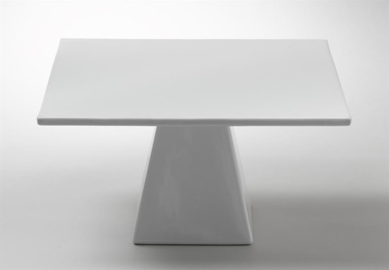 Kakkuvati neliö jalallinen 29,2x29,2 cm K 16,5 cm