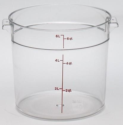 Säilytysastia kirkas 5,7 L