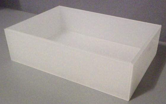 Aterinlaatikko akryyli 17,5x26x0,7 cm