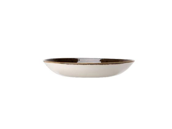 Lautanen syvä harmaa Ø 25,5 cm