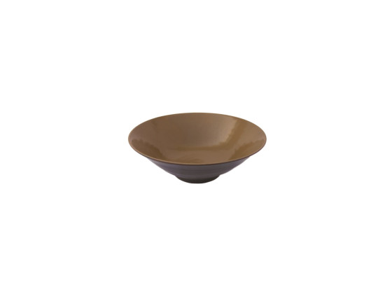 Kulho melamiini ruskea Ø 24,8 cm 118 cl