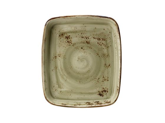 Vuoka suorakaide vihreä 35,5x30,5 cm 3,56 L
