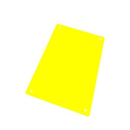 Leikkuualusta keltainen 325x530 mm