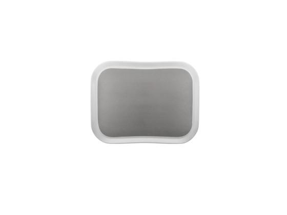 Tarjotin Century Pearl Grey on white 33x43 cm