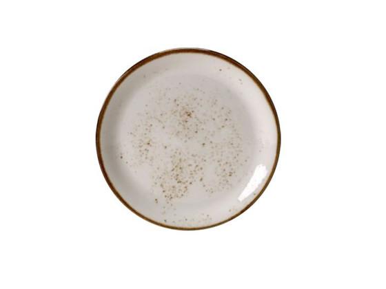 Lautanen coupe valkoinen Ø 15,25 cm