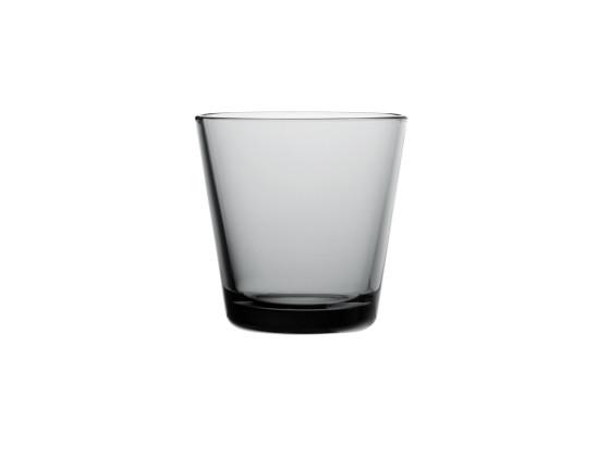 Juomalasi harmaa 2 kpl/pkt 21 cl