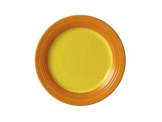 Lautanen melamiini keltainen Ø 25 cm