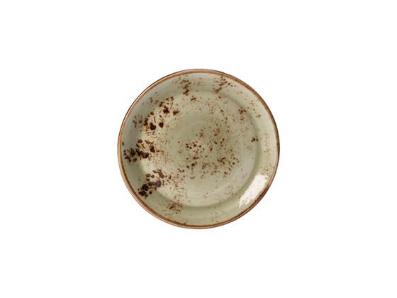 Lautanen syvä vihreä Ø 13 cm