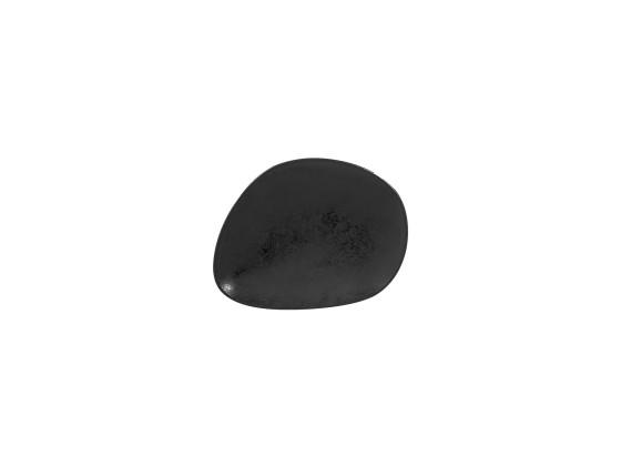 Lautanen musta 22x18 cm