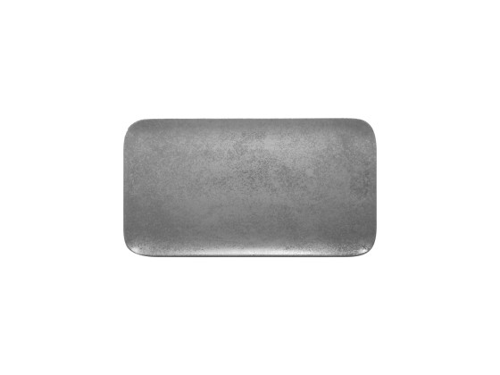Lautanen suorakaide harmaa 38x21 cm