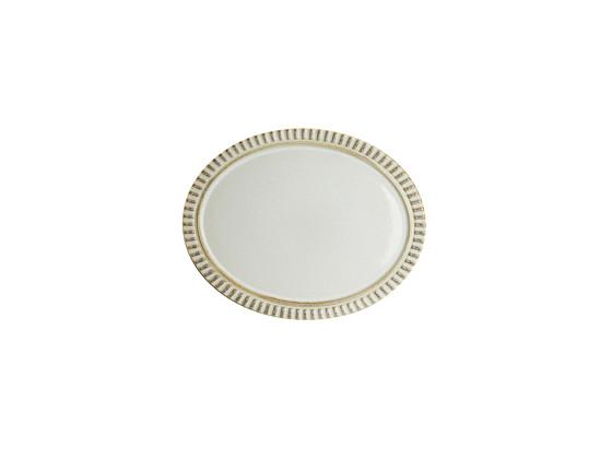Lautanen soikea valkoinen 34x27 cm