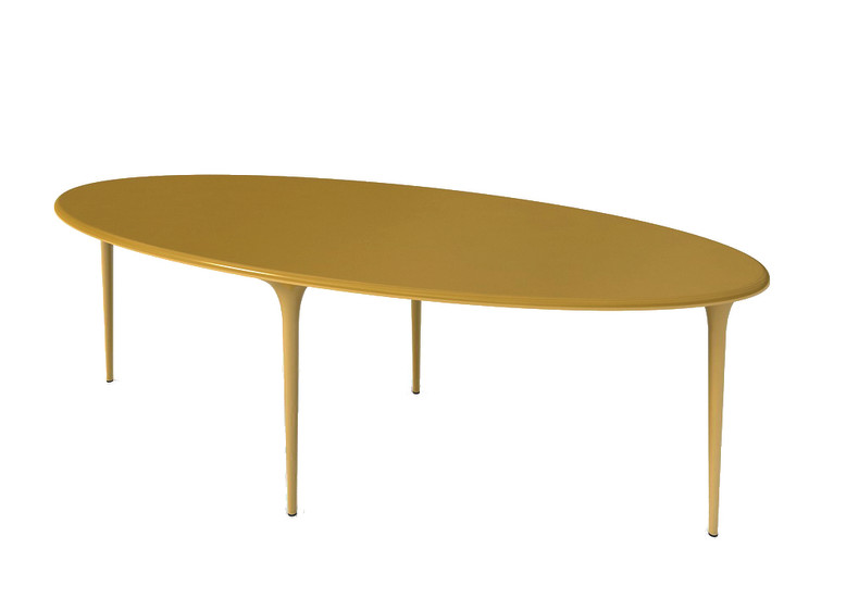 009.01 250 Organic: Elliptical table L 250 cm W 110 cm H 73 cm