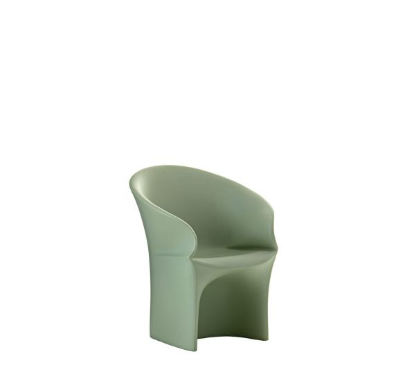 Mermaid: Armchair available in different finishings