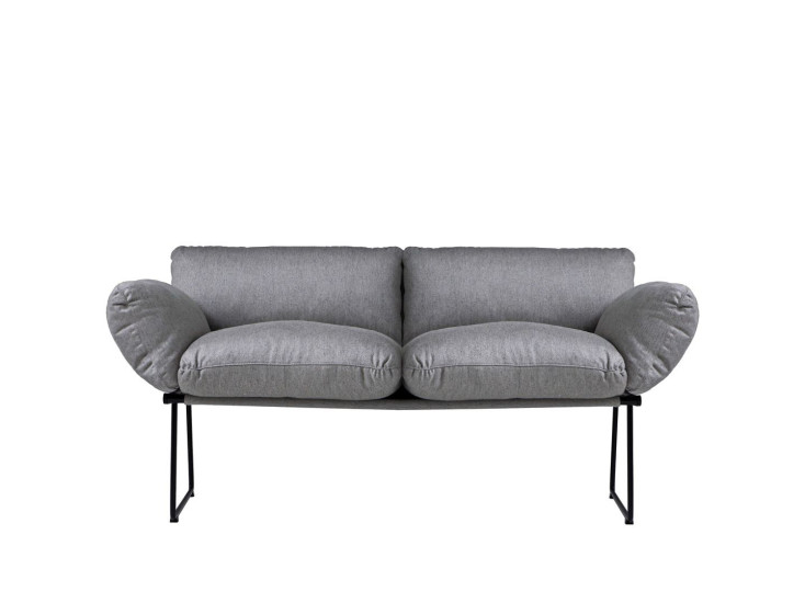 Elisa: 2 seater sofa available in different finishings