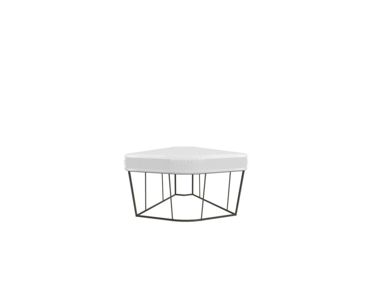 Hervé: Table / corner with steel structure