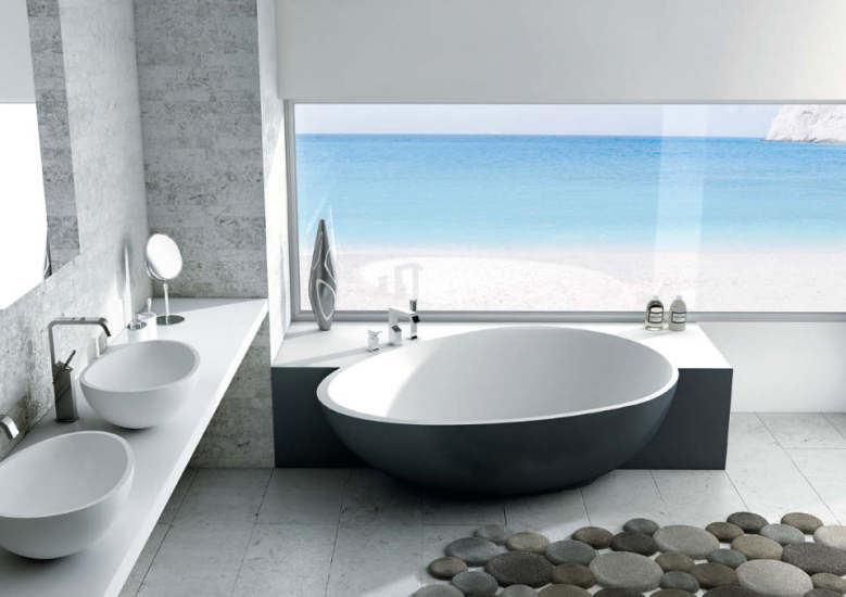 Bahia: Corner bath in different versions