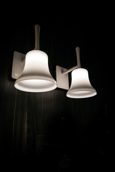 Belle AP Mini: Wall lamp in different finishings