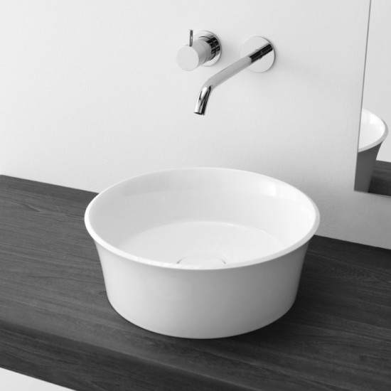Brio: Countertop washbasin Ø38 cm