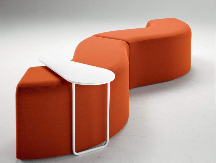 Churros In: Seating system available in different colours