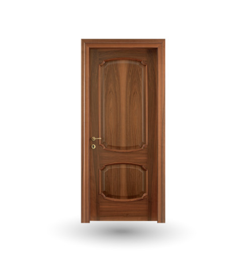 Effigies 81: Hinged wooden door in different finishings