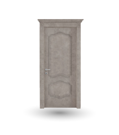 Effigies 85: Hinged wooden door in different finishings