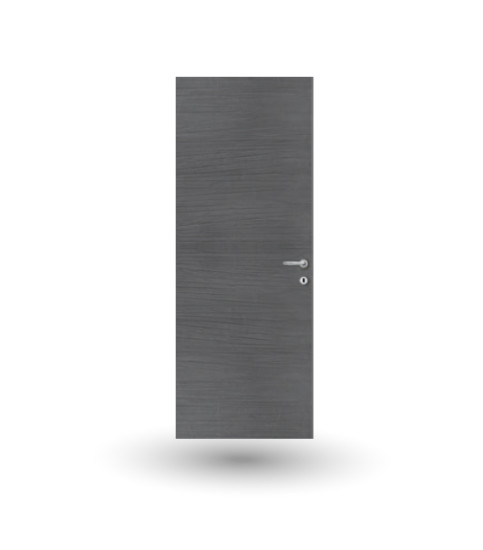 Eterea 13E: Flush to wall hinged door, pull version