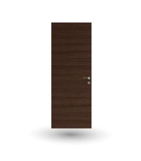 Eterea 13E: Flush to wall hinged door in different finishings