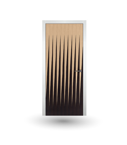 Iki 85G: Hinged wooden door in different finishings