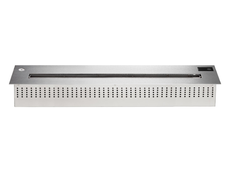 Player 100: Electronic recessed burner 1000 mm x 230 mm