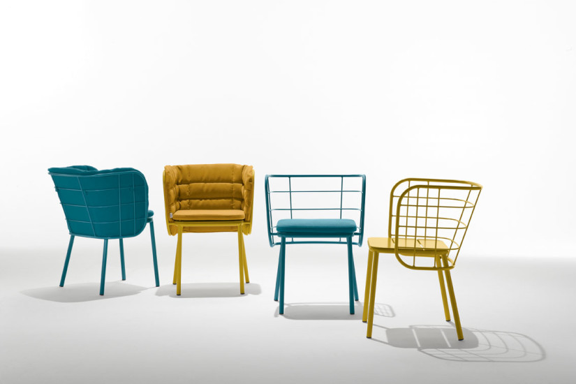 Jujube SP: Indoor and outdoor chair available in different colours