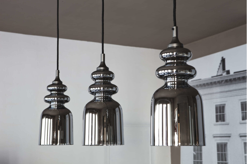 Messalina SO: Suspension lamp in different finishings