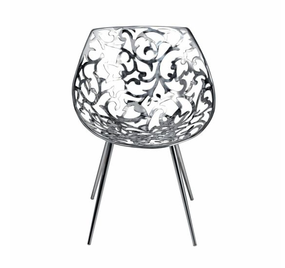 Miss Lacy: Chair available in different finishings