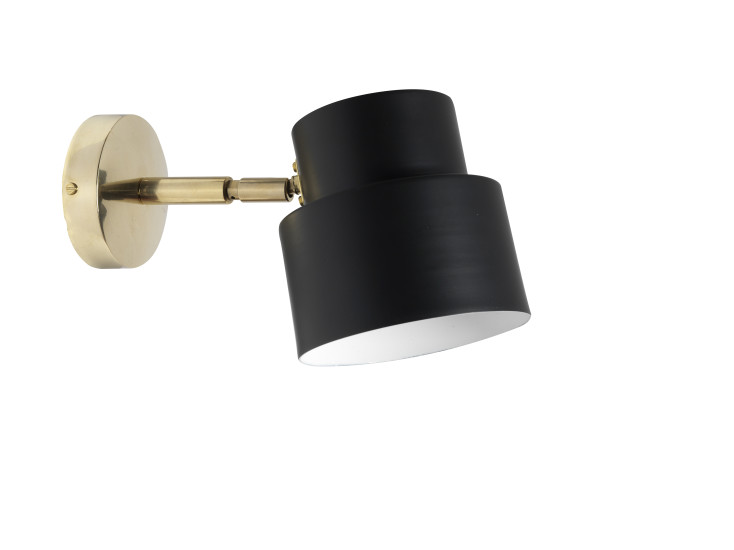 Satellite 03s: Wall lamp available in different finishings