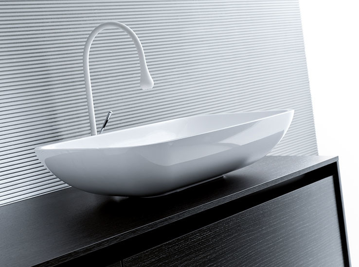 Ilkos: Countertop washbasin in Mitek