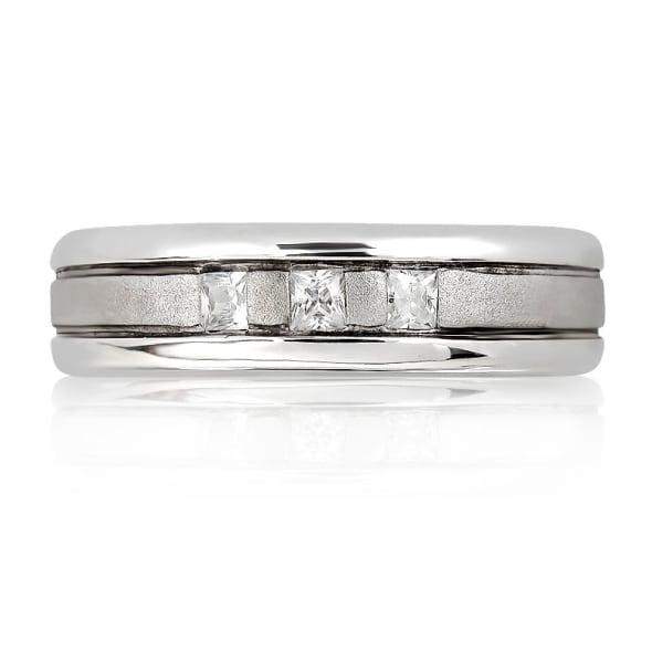 แหวนเพชรหมั้นหญิง ทอง 18K ประดับเพชร น้ำหนักรวม 0.15 กะรัต ค่าสี F ค่าความสะอาด VS