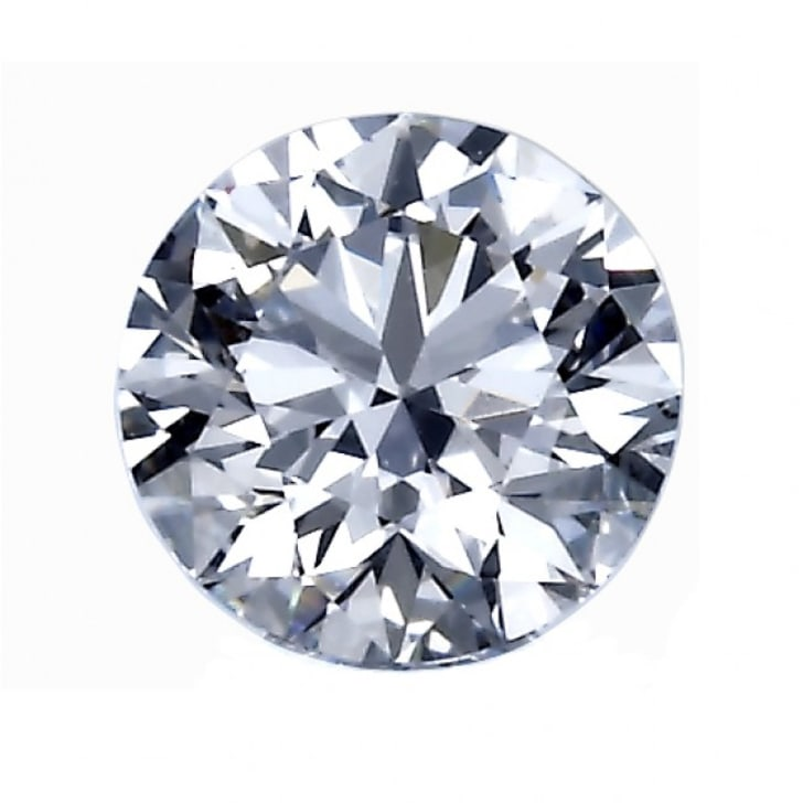 1.11 Carat F Color VS2 Clarity Round Diamond Certified by GIA