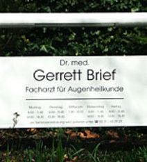 Eingangsschild dr gerrett brieftfw1px