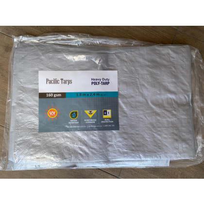 Woven Polypropylene Tarp - 1.8 x 2.4m Tarpaulin