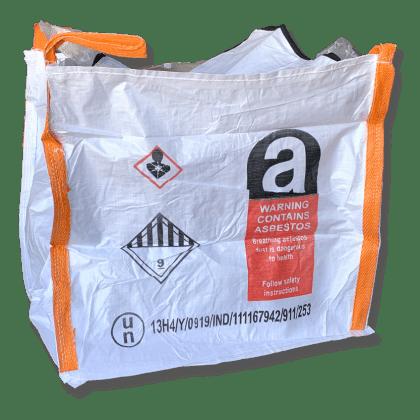 Woven Polypropylene - 250 KG Asbestos Bag - 100x100x100 CM
