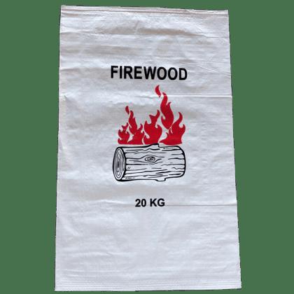 Woven Polypropylene - Printed Firewood Bag 60 x 96 CM