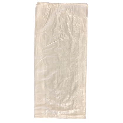 Woven Polypropylene - White Laminated Feed Bag - (38 CM + 12 CM) x 86 CM