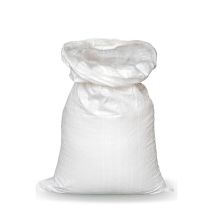 Woven Polypropylene - Feed Bag with Plastic Liner - (38 CM + 12 CM) x 86 CM