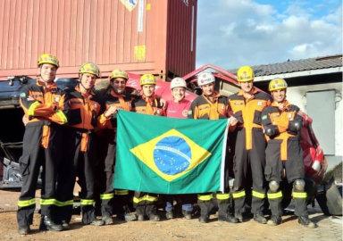 Bombeiros da região embarcam para o Desafio Mundial de Resgate Veicular na África do Sul