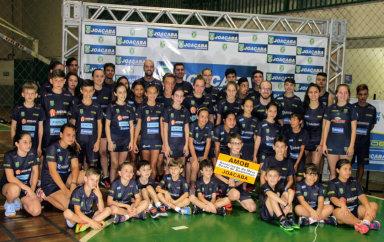Estadual de Badminton bate recordes de atletas e medalhas em Joaçaba
