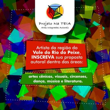Projeto na Teia abre inscrições para apresentações de trabalhos autorais