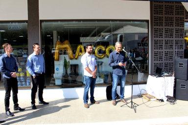 Maicol Materiais de Construção escreve nova página de sua história e reinaugura loja em Erval Velho