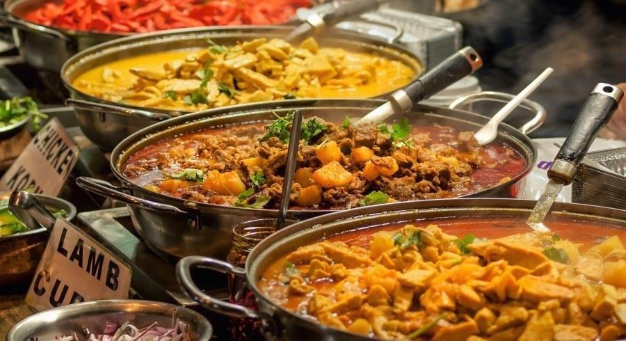North or South India? Try the food everywhere