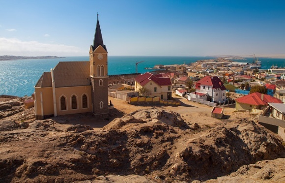 Luderitz, an erstwhile German Town, legacy of a Colonial past