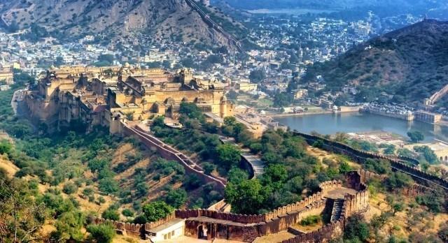 Ballonfahrt in Jaipur