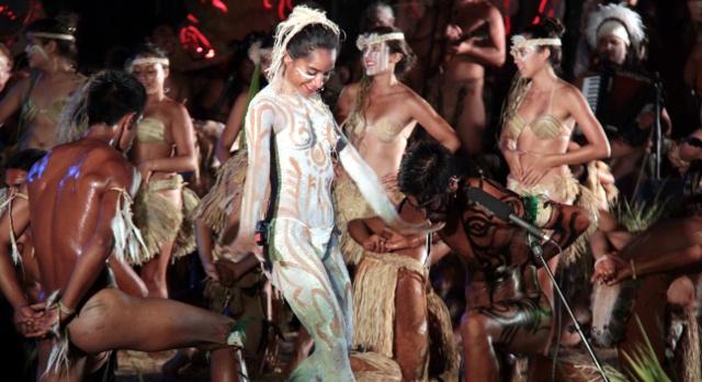 Tapati Festival in Easter Island